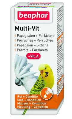 Beaphar multi vit papagaai 20ml