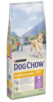 Dog Chow Complet/Classic Lam 14kg
