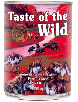Taste of the Wild Southwest Canyon Canine 12x390 gram