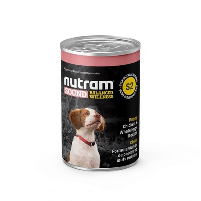 Nutram Blik Adult Dog DF S6 12x369 gram
