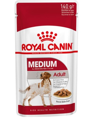 Royal Canin Medium Adult 40 x 140 gram