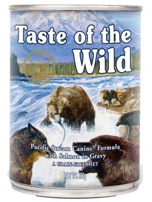 Taste of the Wild Pacific Stream Canine 12x390 gram