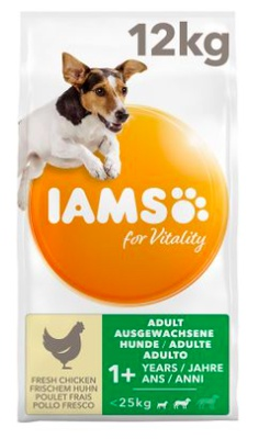 IAMS for Vitality Dog Adult Small Medium Kip